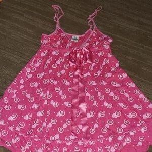 💜 2 for $21 💜 pink Pajama dress